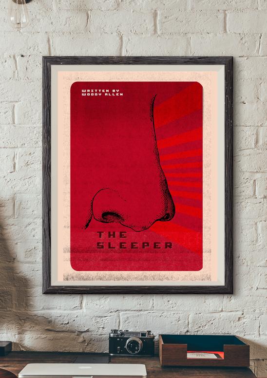 El Dormilón Poster