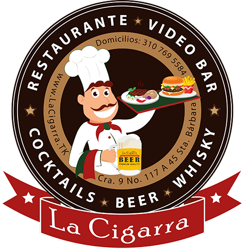 SELLO CHEF CIRCULAR VIDEO BAR LA CIGARRA