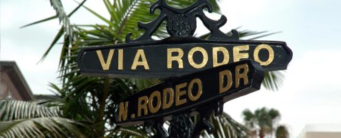 Rodeo Drive Sign - LA City Tours