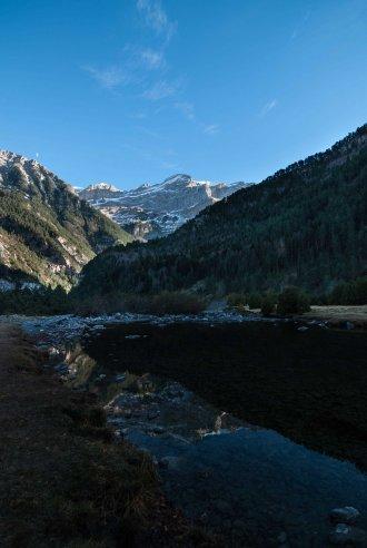 Reflejos de paisaje puro