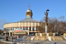 Circo de Karaganda de 1982-1984.
