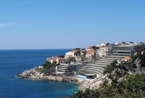 Hotel Libertas en Dubrovnik, 1968-1974, arquitectos: Andrija Činin-Šain y Žarko Vincek. Reconstruido
