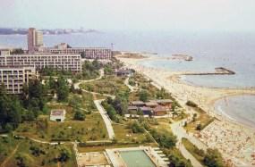 Hoteles en Saturn, Rumanía, 1972.