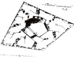 Ladovsky: casa-comuna. planta