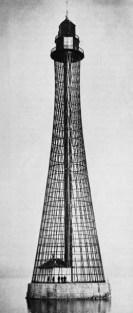 El faro hiperbólico en Adziogol, Ucrania de 1910