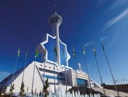 Torre de telecomunicaciones Turkmenistan, 2012