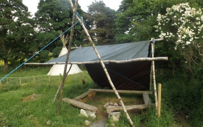 How to build a simple all purpose shelter