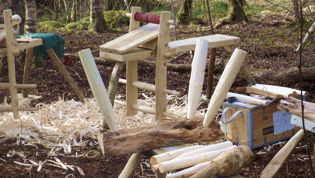 Last minute place on green woodworking course – now booked