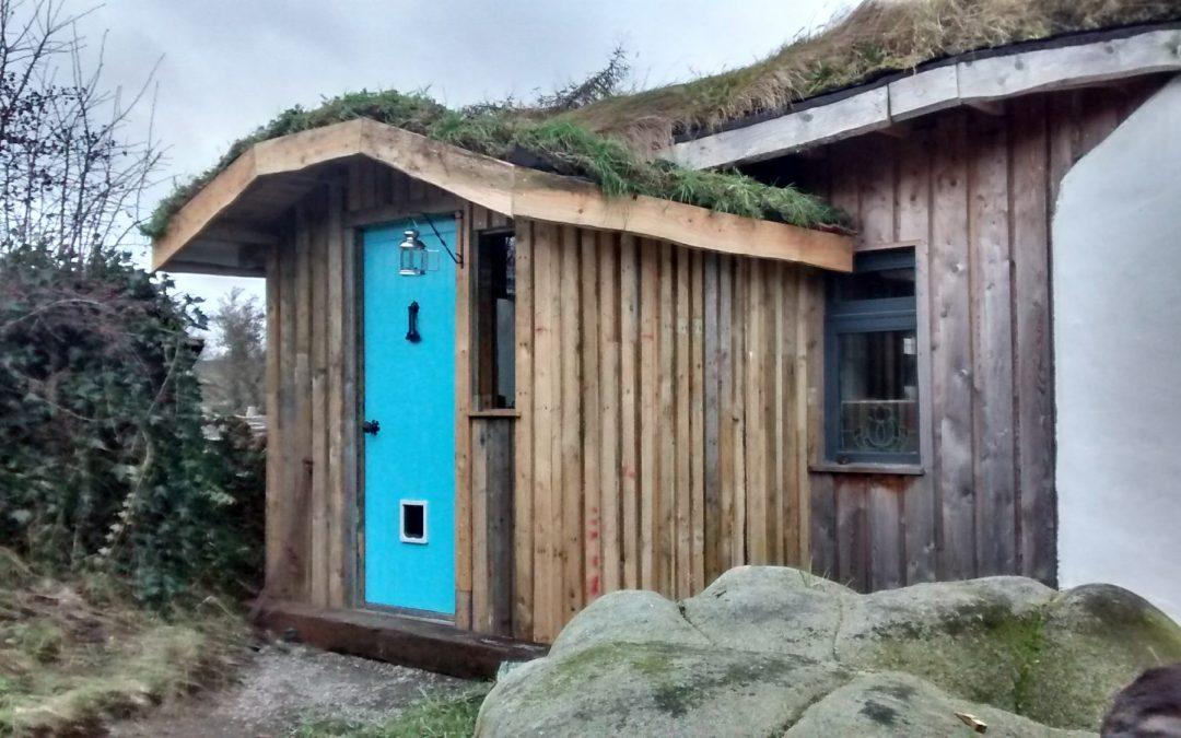 Building a  pallet porch