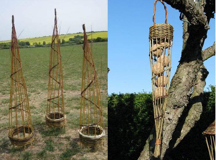 Willow garden structures – Saturday 3 March 2018
