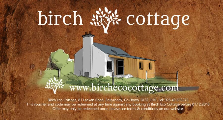 Birch Cottage Gift Vouchers