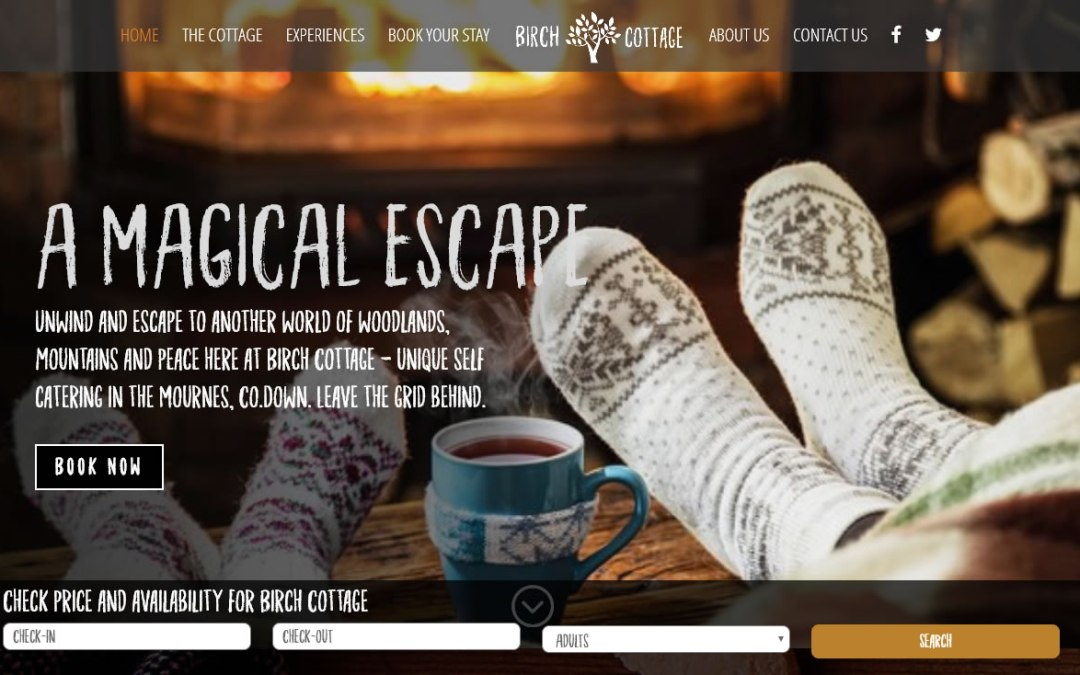 Book Birch Cottage direct with our new website