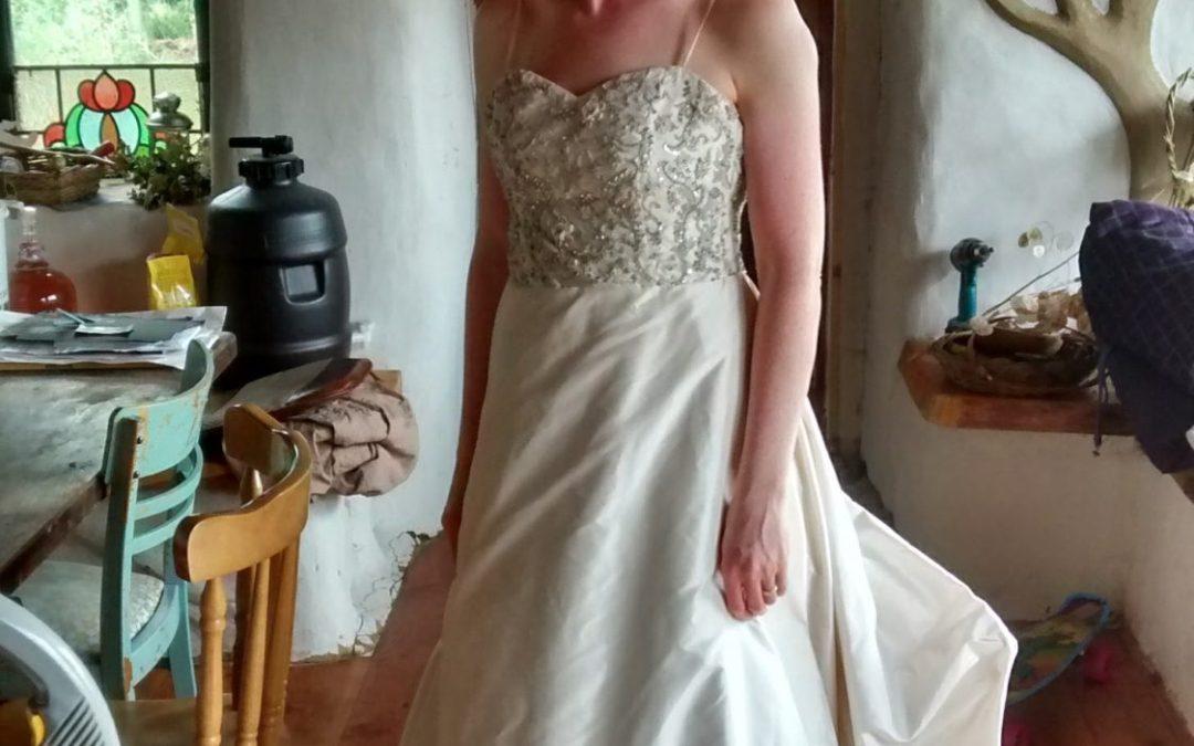 Wedding dress seeks bride to be