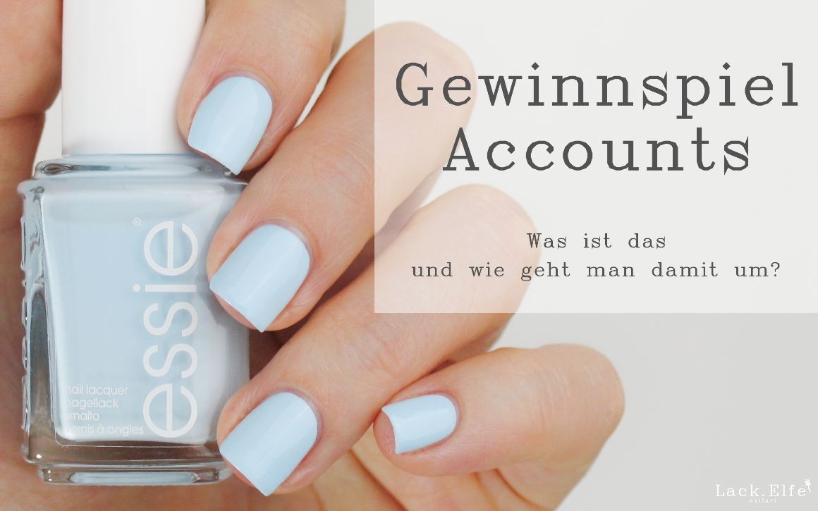 Gewinnspiel Accounts blue-la-la essie iconails catrice go for gold stamping swatch lackelfe lack.elfe