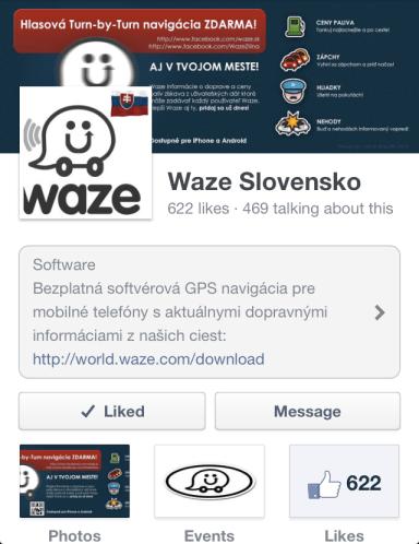FB: Waze Slovensko