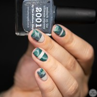 piCture pOlish Nailart Quarterly Challenge | Fluid Nails