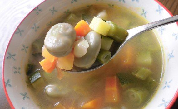 Receta sopa minestrone