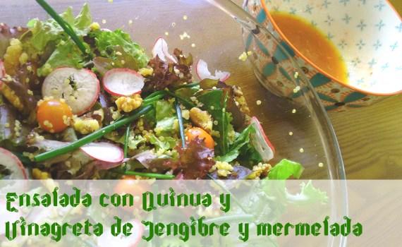 Ensalada con quinua