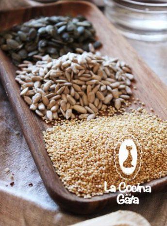 Pipas de Calabaza, Girasol y Quinoa