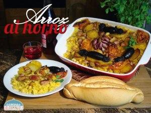 Arroz al horno, receta típica Valenciana (Video mejorado)