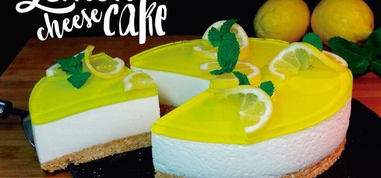 Lemon cheesecake – Tarta de queso y limón tipo mousse (SIN HORNO) – Pay de limón