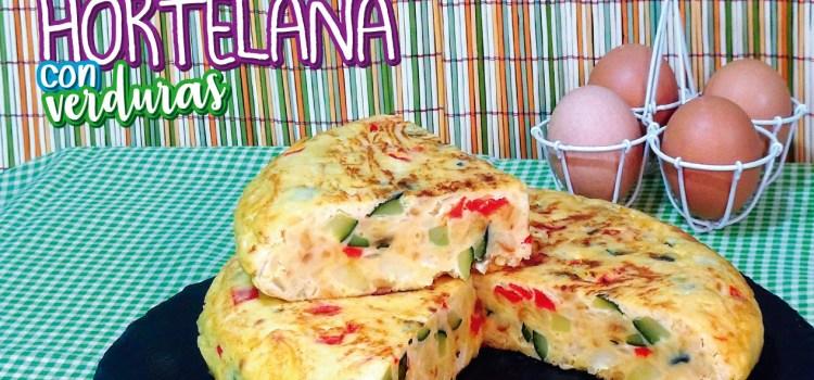 Tortilla con verduras o tortilla hortelana de mi abuela (TORTILLA PAISANA)