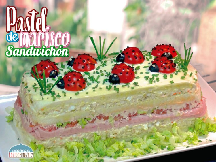 Pastel Frio De Marisco O Sandwichón De Marisco