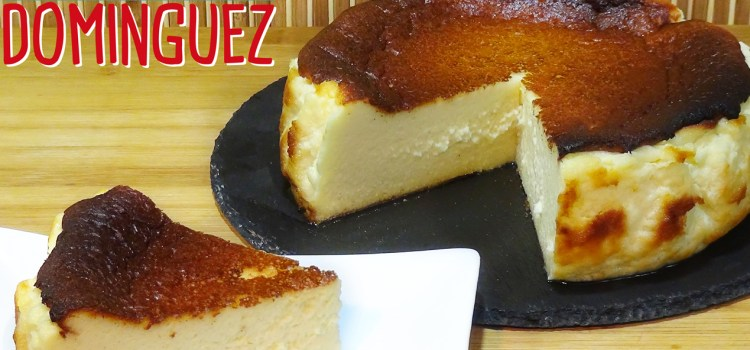 Tarta de queso La Viña (San Sebastián CheeseCake). Loli Domínguez