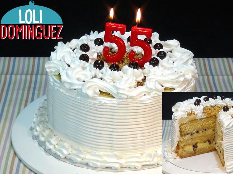 Tarta De Cumpleanos Con Crema Pastelera Y Merengue Loli Dominguez - Tartas-de-cumpleaos-sencillas-y-originales