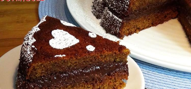 Bizcocho de galletas Príncipe relleno con chocolate ¡Súper fácil!