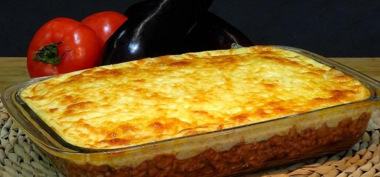 Musaka o Moussaka súper fácil, (Riquísima receta Griega). Cómo hacer una fantástica musaka Griega, este plato me enamoro la primera vez que lo comí en la isla de Santorini