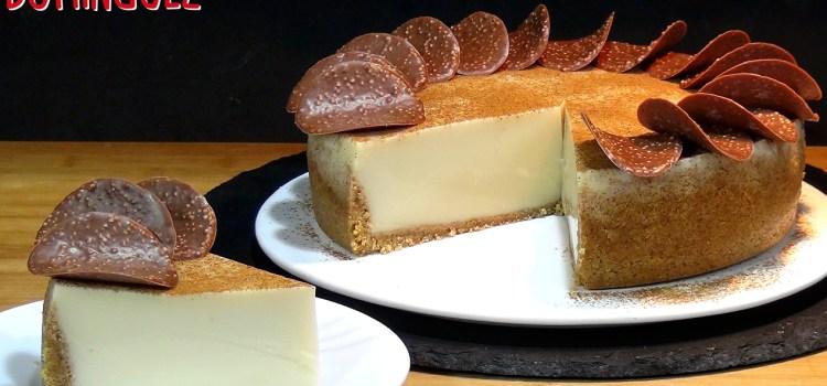Tarta de Horchata (SIN HORNO) La tarta más fácil y rápida que he hecho