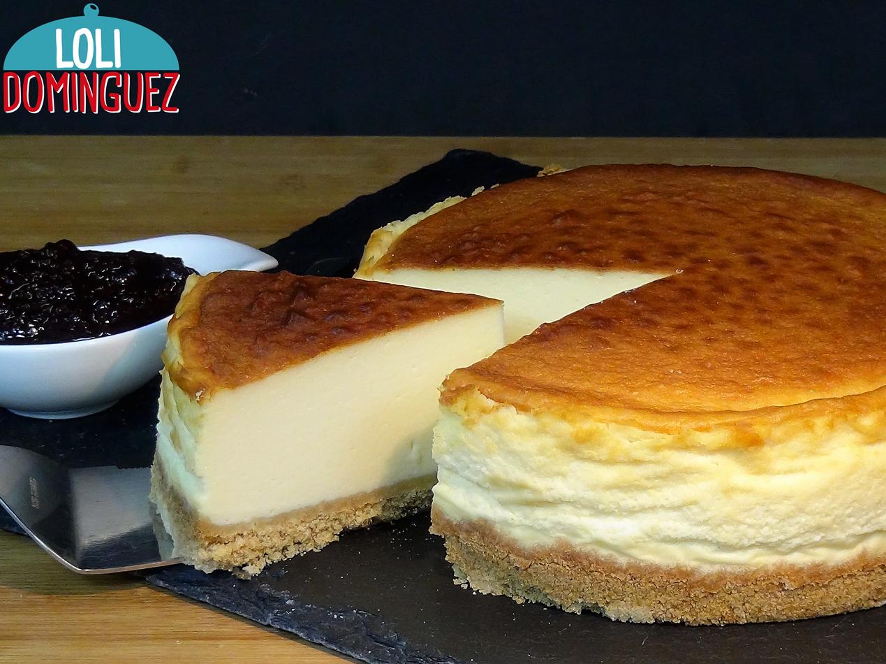 Tarta De Queso New York Cheesecake Y Trucos Para Que Te Quede Perfecta