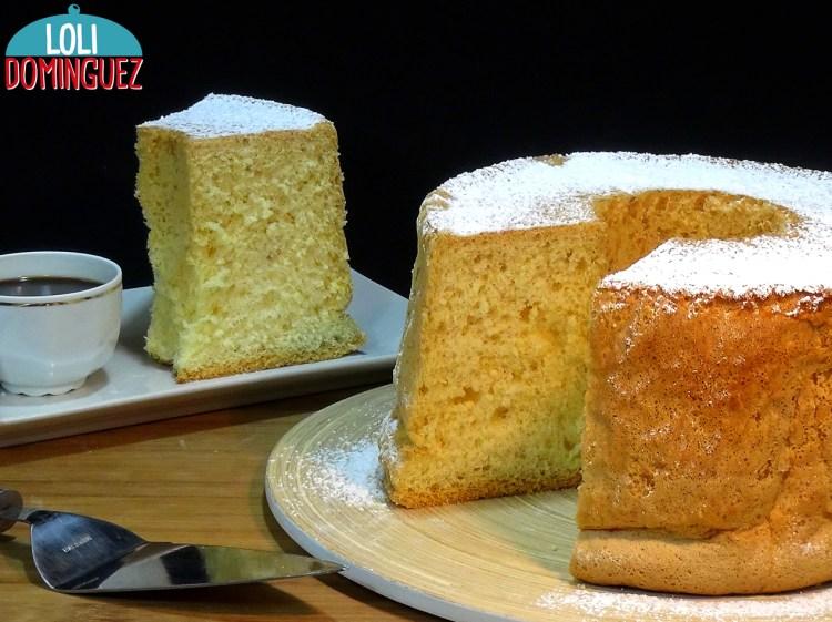 Bizcocho súper esponjoso - Bizcocho de Salamanca (Bollo Maimón). Como hacer uno de los bizcochos más altos y esponjosos, receta muy fácil que además es sin gluten