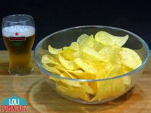 Patatas chip super crujientes, perfectas y muy fáciles, tips y trucos para que te queden perfectas