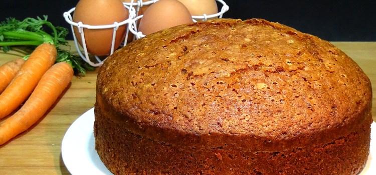 BIZCOCHO DE ZANAHORIAS O CARROT CAKE – Loli Dominguez