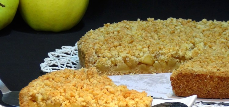 TARTA CRUJIENTE DE MANZANA – APPLE CRUMBLE PIE