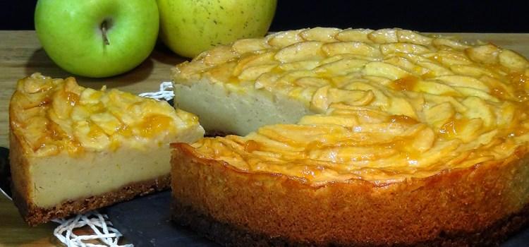 TARTA DE MANZANA MUY FÁCIL. Como hacer tarta de manzana casera fácil, rápida y absolutamente deliciosa, no dejes de probar esta receta que sin duda te va a encantar