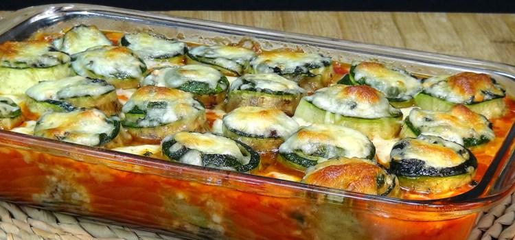 ROLLITOS DE CALABACÍN AL HORNO, ESPECIAL SEMANA SANTA. Aunque en cualquier época del año esta receta esta ¡¡riquísima!! Una manera diferente y deliciosa de comer esta verdura y además le pondremos pescado y bechamel con lo que aún queda más riquísima