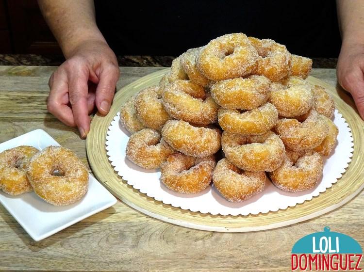 ROSQUILLAS DE SEMANA SANTA, TIERNAS TODA LA SEMANA, con esta receta se terminaron las rosquillas duras al día siguiente de haberlas hecho, aguantan tiernas toda la semana incluso algún día mas