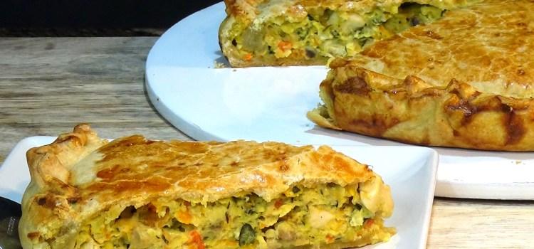PASTEL DE VERDURAS Y POLLO, RIQUÍSIMO Y NUTRITIVO. Muy fácil de preparar, ideal para la cena, como entrante, almuerzo, brunch, llevar frío a un picnic o al trabajo.