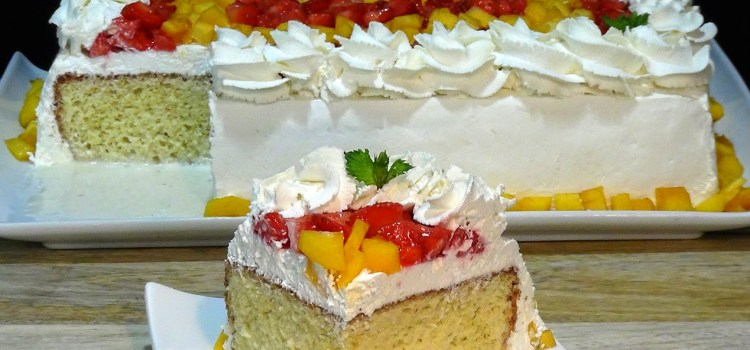 LA FAMOSA TORTA, TARTA O PASTEL TRES LECHES. Receta fácil, jugosa y deliciosa, esta torta, tarta o pastel será una de la que repitas una y otra vez porque gusta a pequeños y a mayores