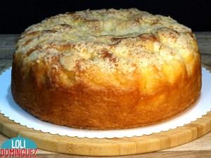 EL FAMOSO PASTEL DE MANTEQUILLA ALEMÁN (BUTTERKUCHEN). Uno de los dulces más famosos en Alemania es este riquísimo pastel de mantequilla que habitualmente lo toman en la merienda, es un bizcocho tierno y jugoso de una masa parecida al brioche