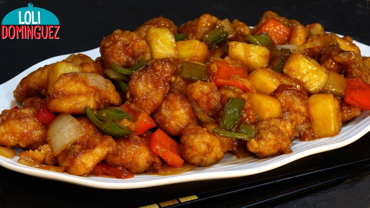 POLLO CON SALSA AGRIDULCE, UNA RECETA DE COMIDA CHINA FACIL Y DELICIOSA. Con esta receta te enseño como hacer el más rico pollo agridulce que comerás nunca