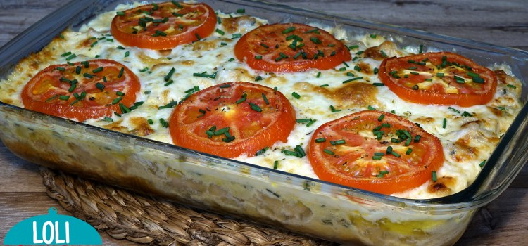 POLLO CON PATATAS (PAPAS) FÁCIL. Una receta de pollo con patatas realmente deliciosa, queda con mucho sabor, de textura cremosa y muy jugoso