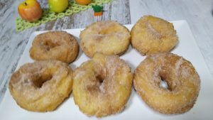 rosquilla frita sin gluten