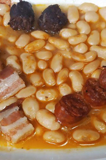 como hacer fabada asturiana en olla gm h
