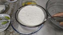 Pastel o tarta de harina de arroz