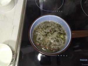 Té verde con jengibre, limón y canela- te para adelgazar