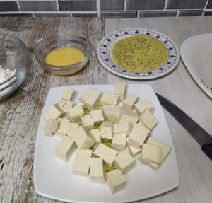 receta de tofu frito en salsa de soja con arroz